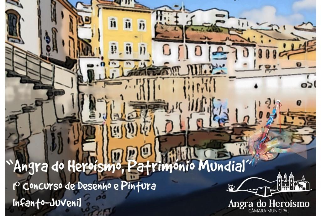 """Photo of Concurso de desenho e pintura """"Angra do Heroísmo, Património Mundial"""""""