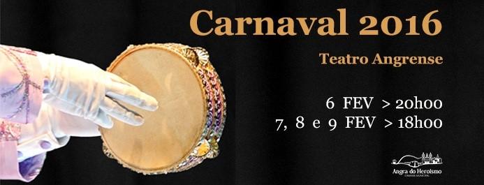 Photo of Carnaval 2016 no Teatro Angrense