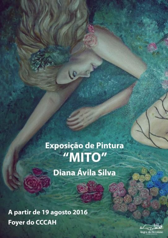"""Photo of Exposição de Pintura """"Mito"""" de Diana Ávila Silva"""