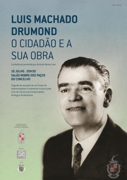 "Photo of Conferência ""Luís Machado Drumond cidadão interventivo e a sua obra"""