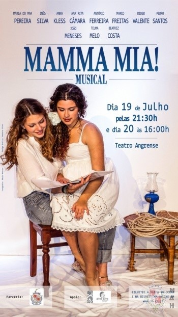 Photo of Mamma Mia no Teatro Angrense