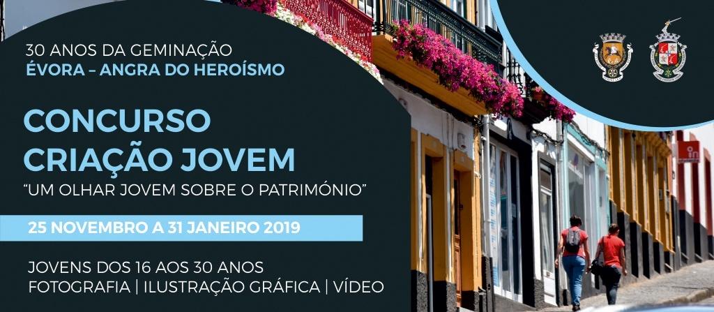 Photo of Angra e Évora promovem Concurso Jovem no 30.º Aniversário de Geminação