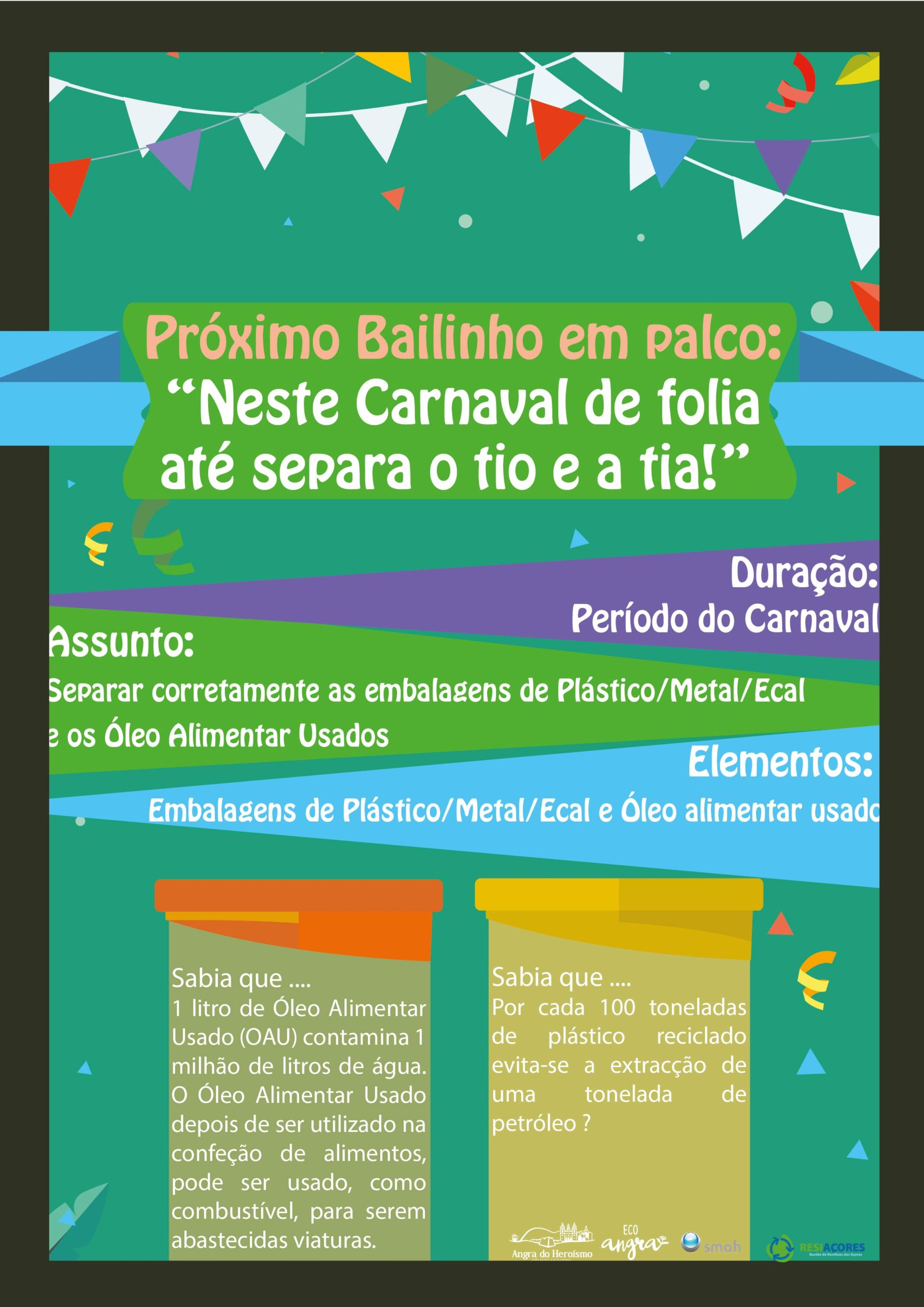 Photo of Neste Carnaval de Folia, Até Separa o Tio e a Tia