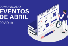 Photo of Comunicado: Cancelamento dos eventos de abril