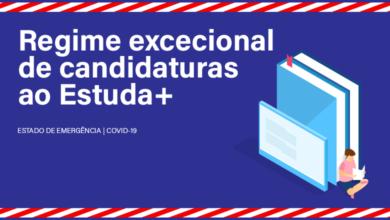 Photo of Regime excecional de candidaturas ao Estuda+ (COVID-19)