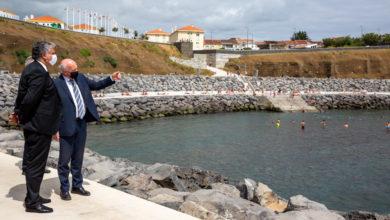 Photo of Obra de proteção, consolidação e valorização costeira da Baía do Fanal